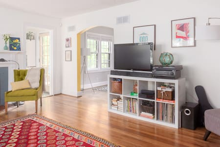 Charming home walkable to downtown - Durham - House