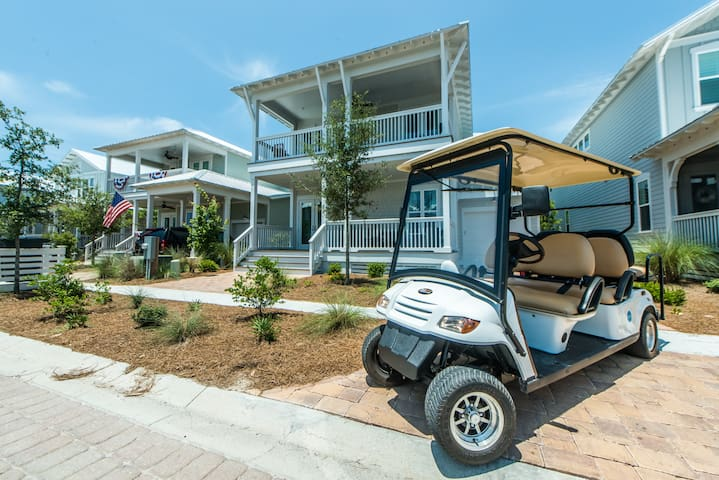 6 Person Golf Cart ~ 4 Bikes ~ Brand New Home (BEAUTIFUL)~ Southern Tide at NatureWalk 30A