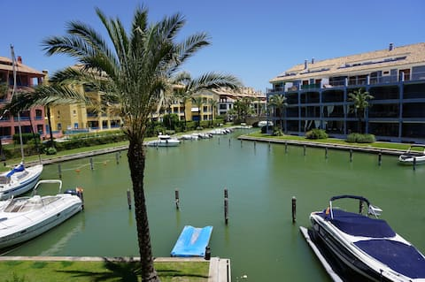 Luxury large 3 bed apartment Sotogrande great pool