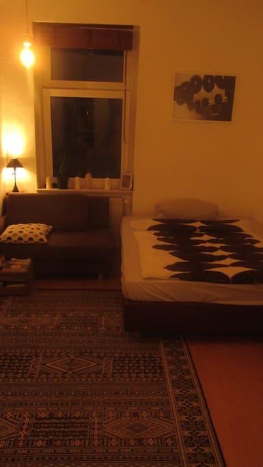 Bett & Berber Teppich