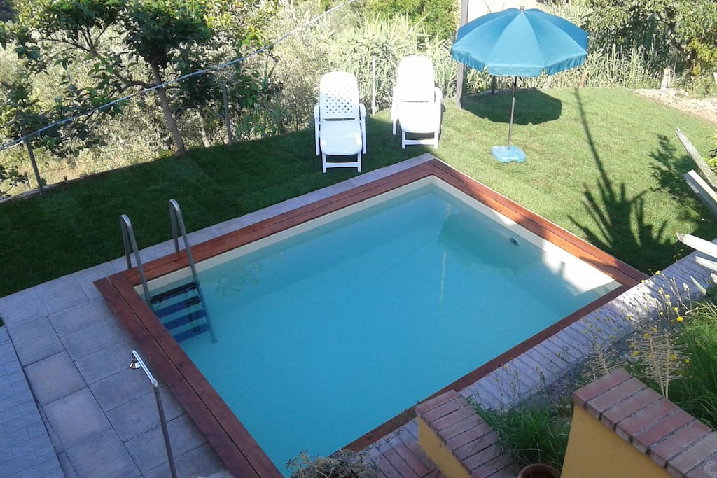 The lovely private pool