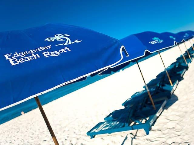 **Newly Renovated** Beachfront Condo at Edgewater