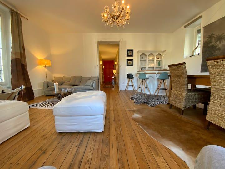appartement 110 m2 charme et standing assurés