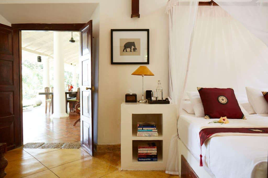 Main Villa - Frangipani Suite - Sleeps 2