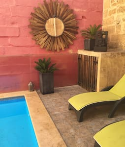 Farmhouse + Pool  - Boutique Style - Xagħra - Dům