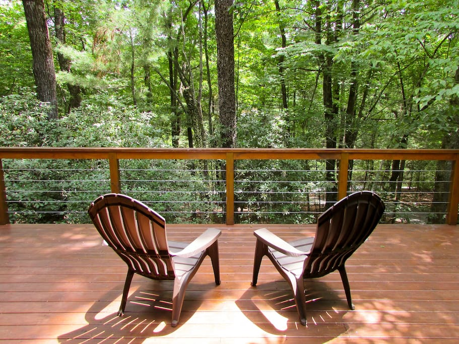 Perfect place for morning coffee or tea and taking in nature
