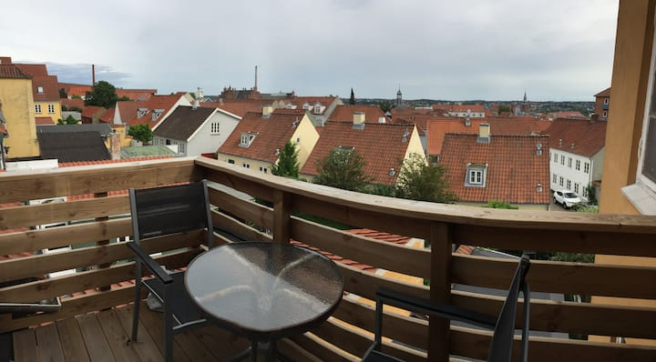 Centrally placed apartment in Randers