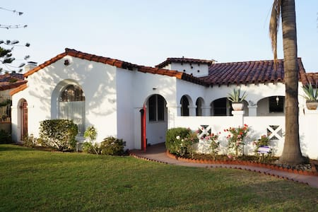Nice Spanish Style Guest House - East Los Angeles - Rumah