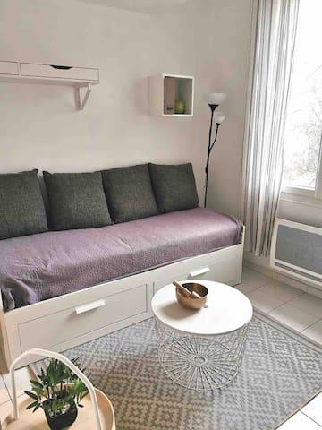 Magnifique studio en plein centre ville d'Aix!