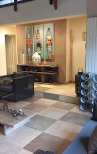 Chambre avec sdb privée dans jolie maison atypique - Chanteloup-les-Vignes - 独立屋