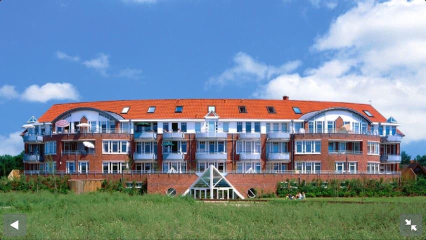 Moderne Wohnung mit Blick auf Deich - Wurster Nordseeküste - Pis