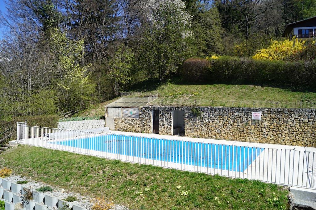 St gervais mont blanc beau studio 24 m2 piscine for Piscine st gervais