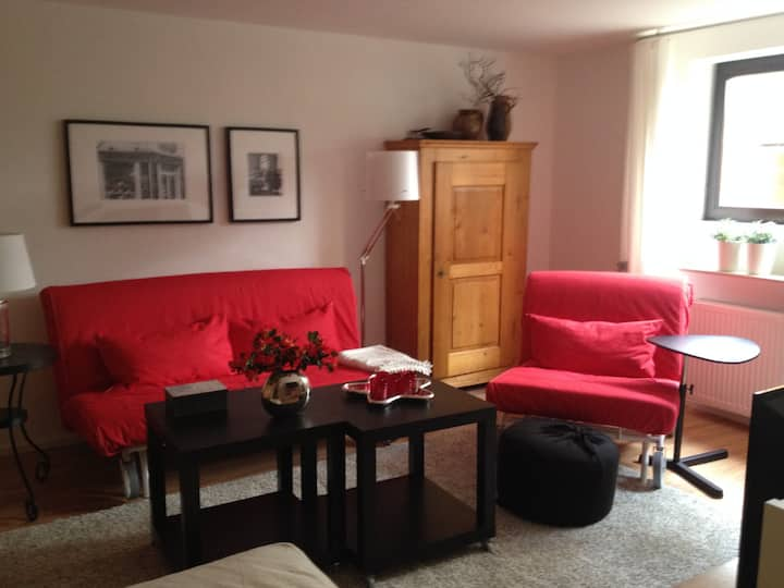 2 Room Apt 42qm - Close to City, Fair and Airport