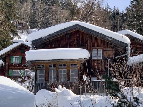 Chalet Mahli in Saas bei Klosters