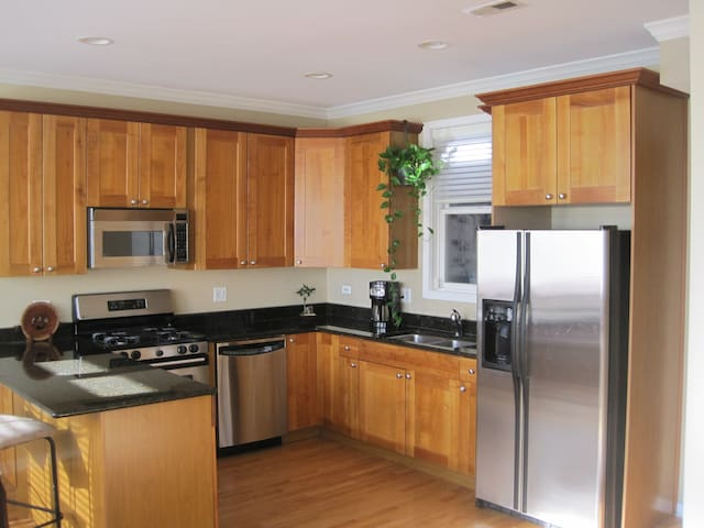 Stunning Bright Condo in heart of Lincoln&Diversey - Chicago - Bed & Breakfast
