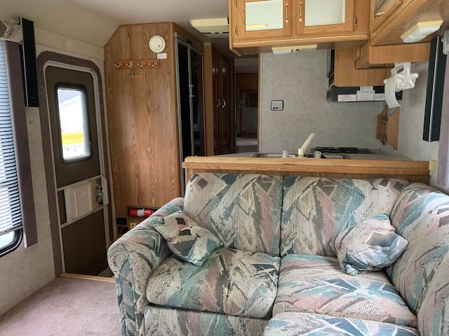 Nice spacious RV with king size Bed