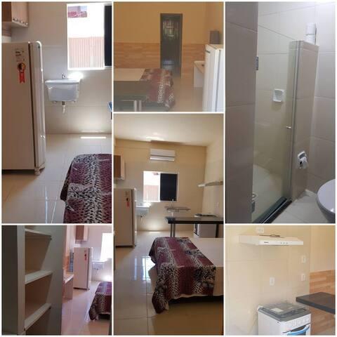 Apartamento Casal 1 ( Com cozinha, sem varanda ).