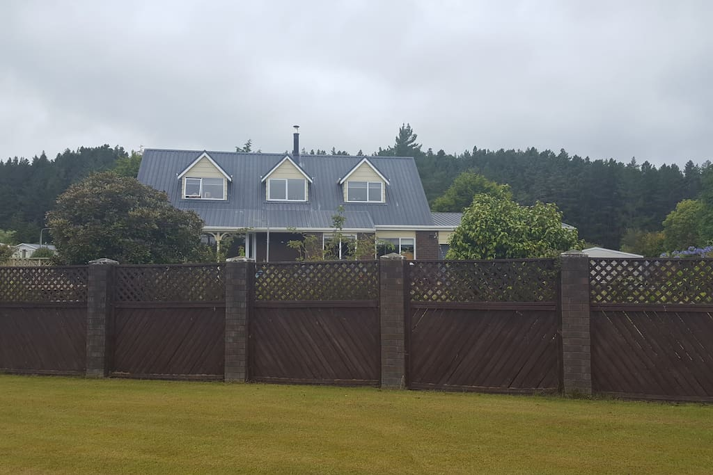 Exterior and fencing