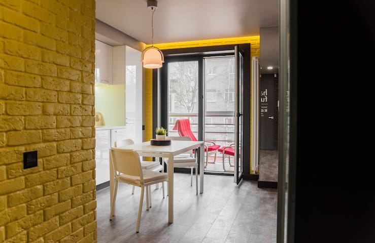 "Design Apartment ""Loft"" not far from Kremlin"