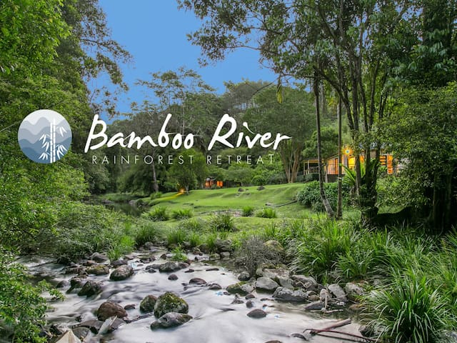 Bamboo River magical, serene and private. - Upper Wilsons Creek - House