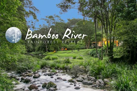 Bamboo River magical, serene and private. - Upper Wilsons Creek - 獨棟