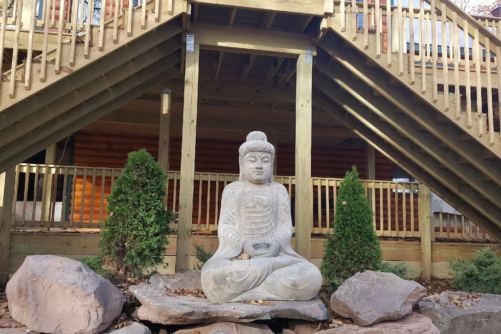 Buddha is watching over Serenely Secluded Chalet