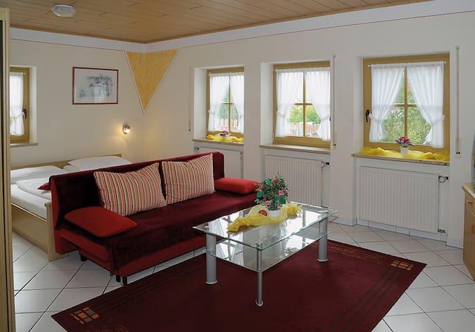 Ferienwohnungen Lehner (Mitteleschenbach), Ferienwohnung 1 (30qm) mit kostenfreiem WLAN und Garten