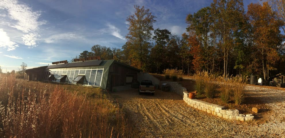 Northeast Georgia Earthship - Royston - Casa