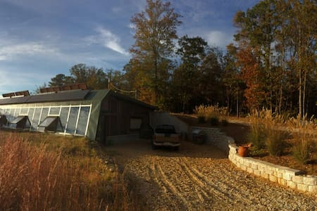 Northeast Georgia Earthship - Royston