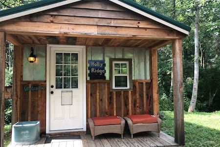 HOLLY RIDGE: private getaway in the mtns Pets OK