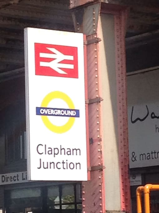 Welcome to Clapham Junction ~ from where you can explore far and wide!