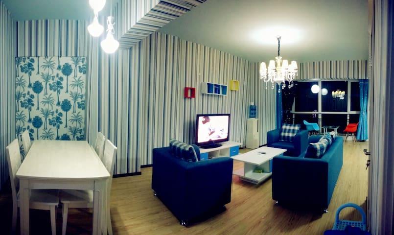 金城之家西站两室一厅地中海主题房 - Lanzhou - Appartement