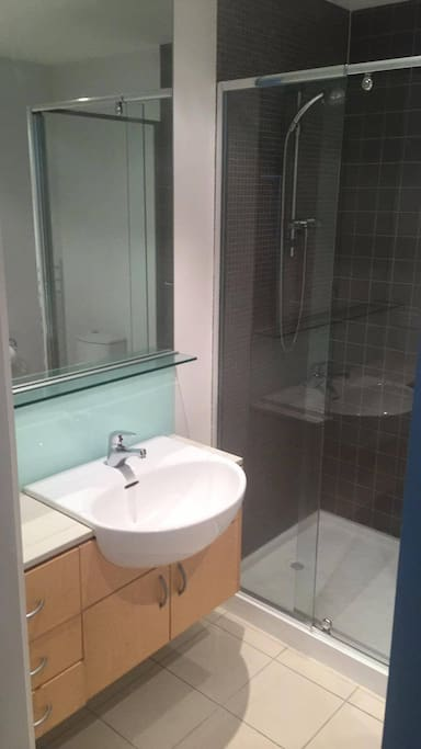ENSUITE bathroom for your own privacy.