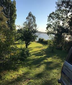 Casa Lago Rapel sector Las balsas  salida a lago