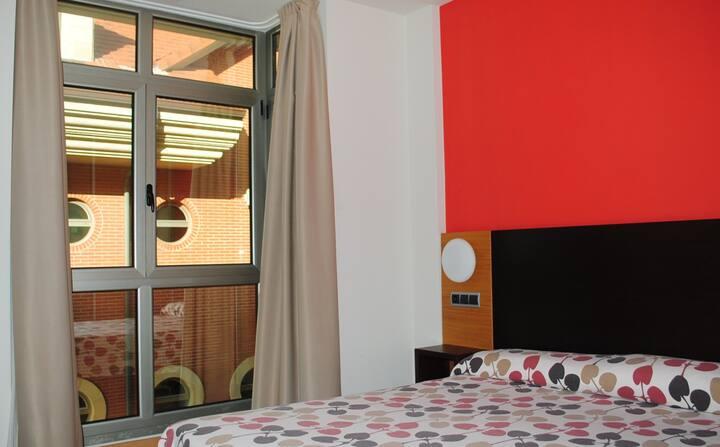 Apartamento 2/4 plazas en Resort primera línea de playa