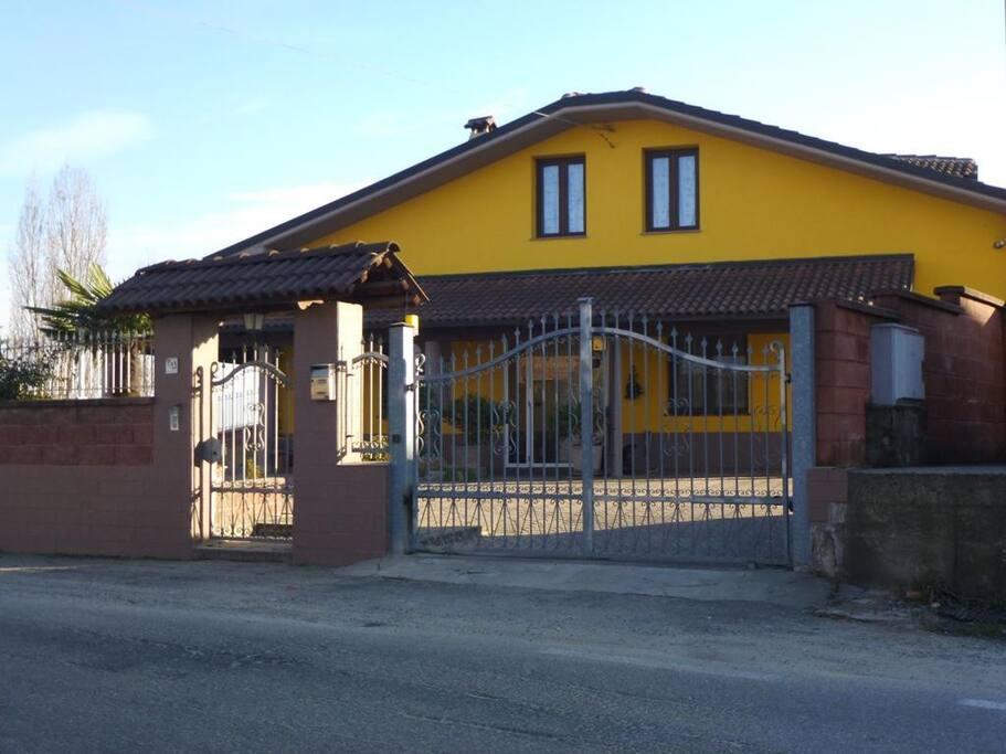 Villacolle entrata principale