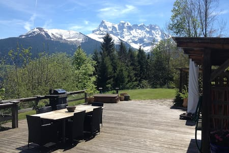 Chalet Ingas,Private room,mountain alpage home,B&B