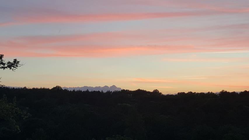 Our famous sunset Le couchage de soleil au Brugal