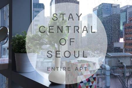 MyeongDong ♥Basecamp803♥CityVIEW - Jongno-gu - Condominium