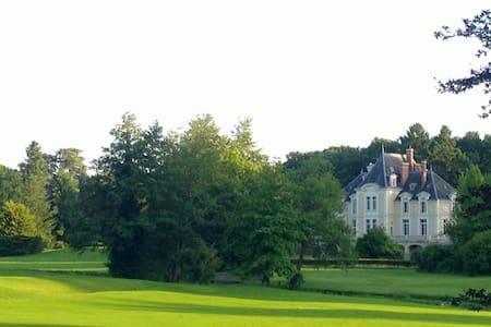 Chateau d'Ardree Apt Gite Mame 1749 9pax - Saint-Antoine-du-Rocher