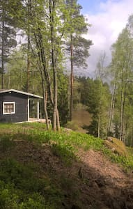 Peaceful cottage at the forrest by the water. - Somero - Cabane