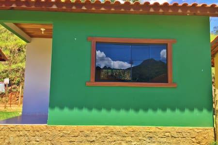 Chalés em Lumiar - Chalé Verde