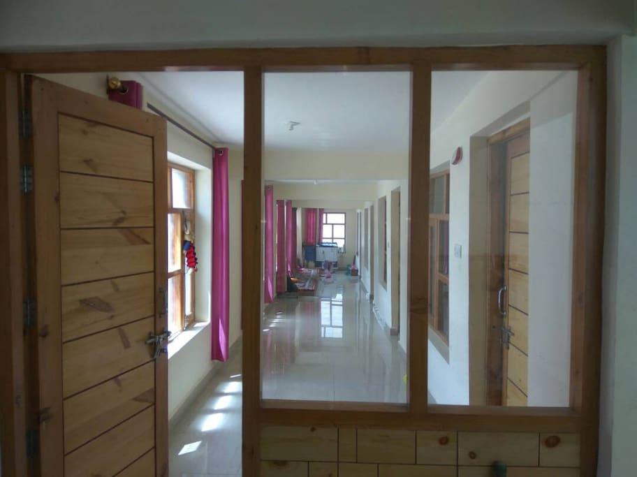 Sunny and Airy Corridor