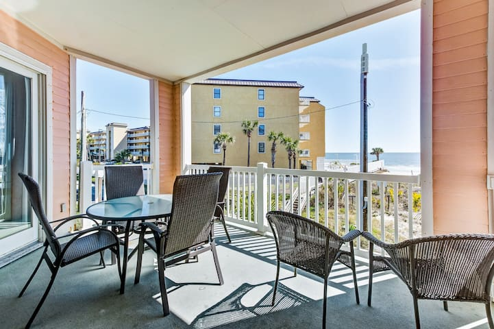 Spacious condo with great views of the ocean, beach, and dune!