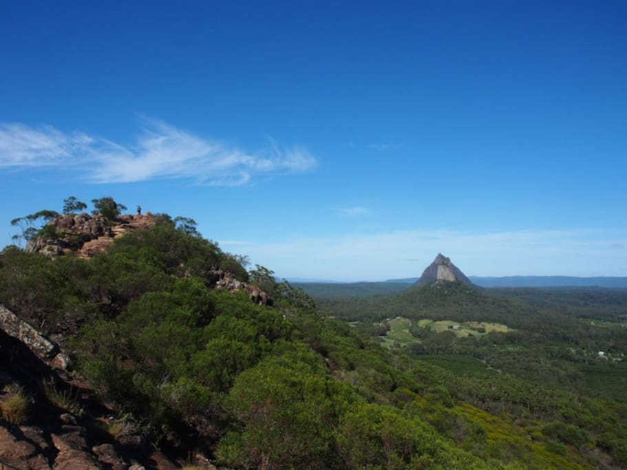 Mt Ngun Ngun part of the Glass House Mtns. A must see & easy climb.