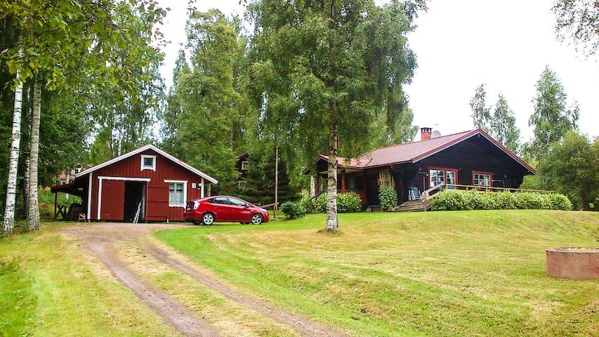 Large log cabin Siljansnäs - Leksand NV - Houten huisje
