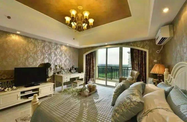 五星级度假酒店内的轻奢海景公寓,私家海滩/户外泳池/高尔夫 - Qinhuangdao - Apartment