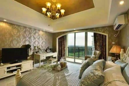 五星级度假酒店内的轻奢海景公寓,私家海滩/户外泳池/高尔夫 - Qinhuangdao - Daire