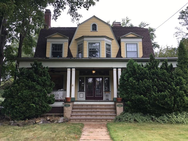 Historic Home 1 Mile from NYC Train - Plainfield - Haus