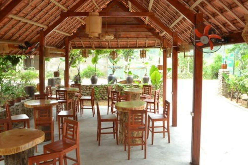 Inside & overview of our restaurant
